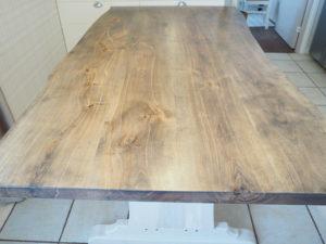 Ruokapöytä (luonnonreunainen) galleria kuva #2