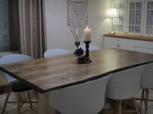 Ruokapöytä (luonnonreunainen) galleria kuva #3