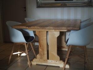 Koivuinen ruokapöytä galleria kuva #5