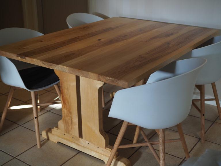 Koivuinen ruokapöytä galleria kuva #1