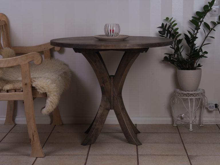 Pyöreä pöytä koivusta galleria kuva #1