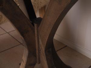 Pyöreä pöytä koivusta galleria kuva #5